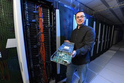 Falcon supercomputer at INL