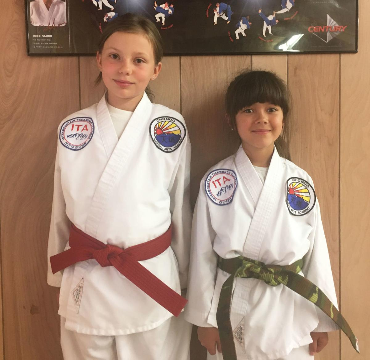 2 youths advance in tae kwon do