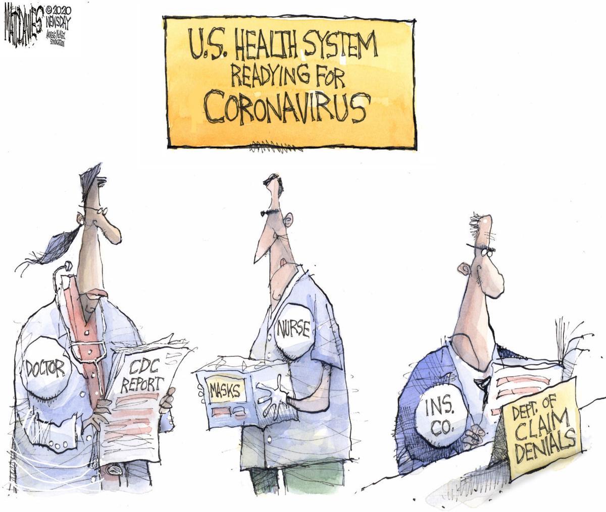 Corona response | Cartoons | postregister.com