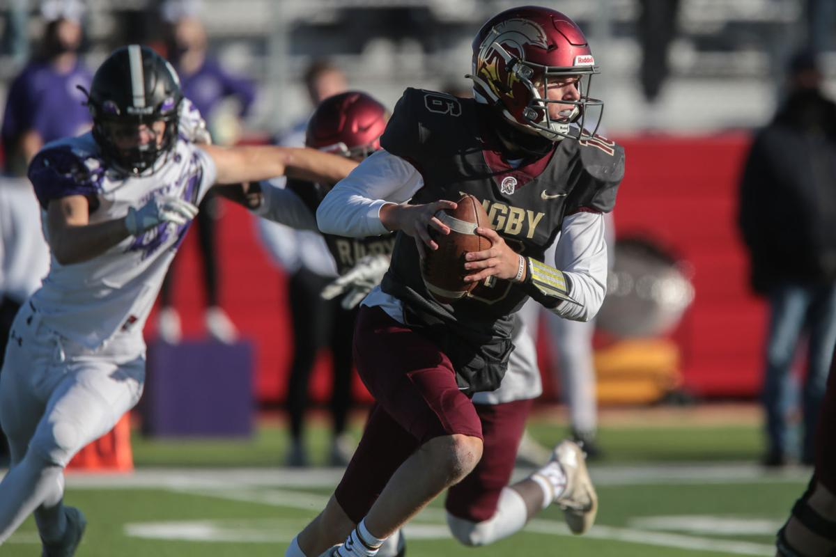 Turnovers plague Rigby in 5A title loss to Rocky Mountain