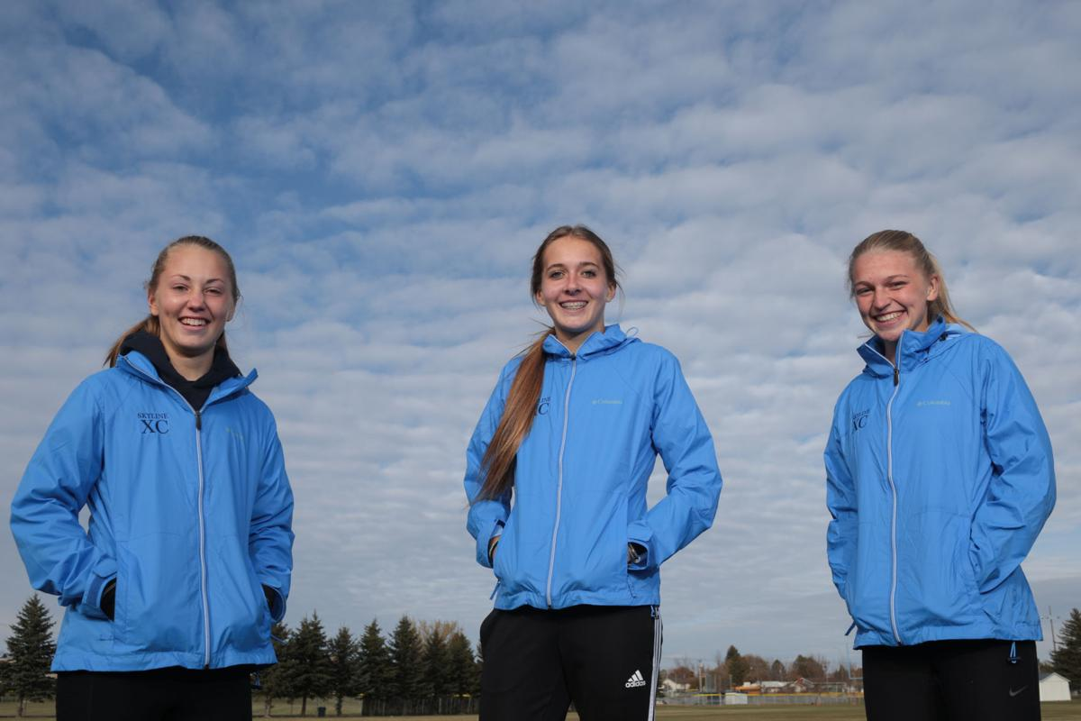 CROSS COUNTRY: Skyline's top three girls are competing with something to prove