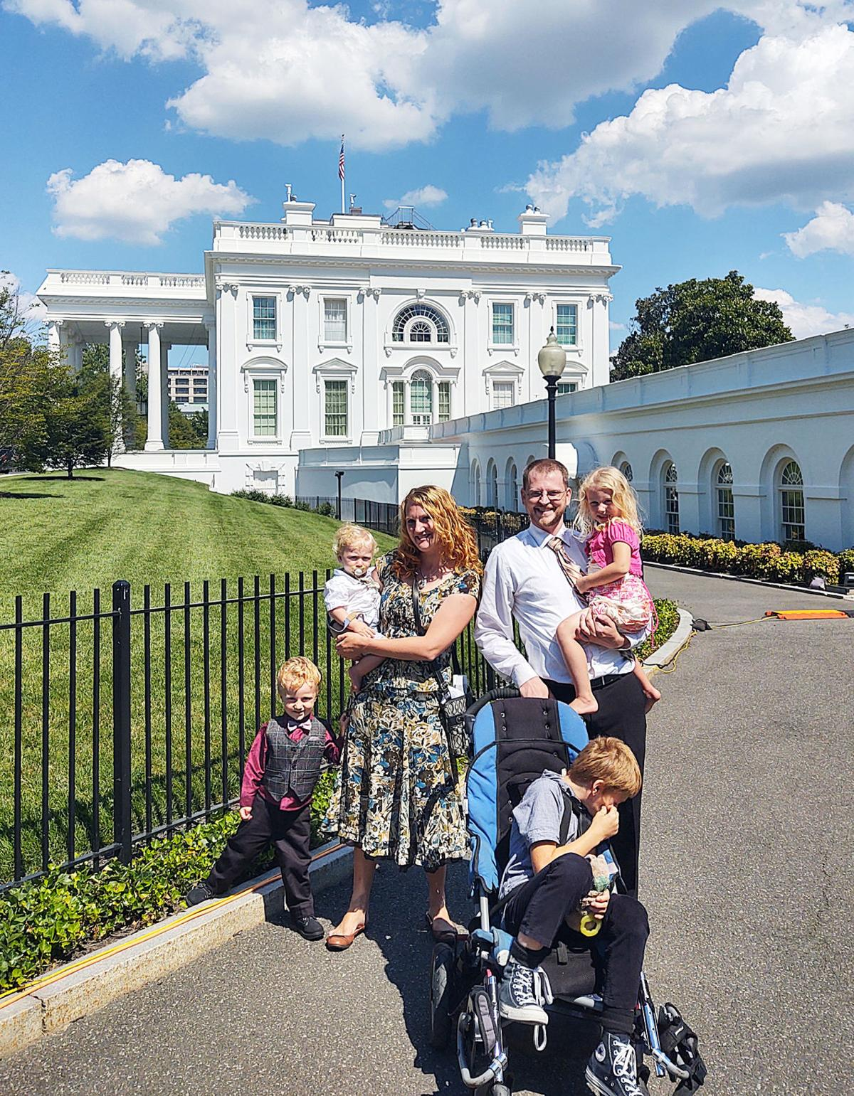 The search for her son: How Sara Bohon ended up at a table with the President