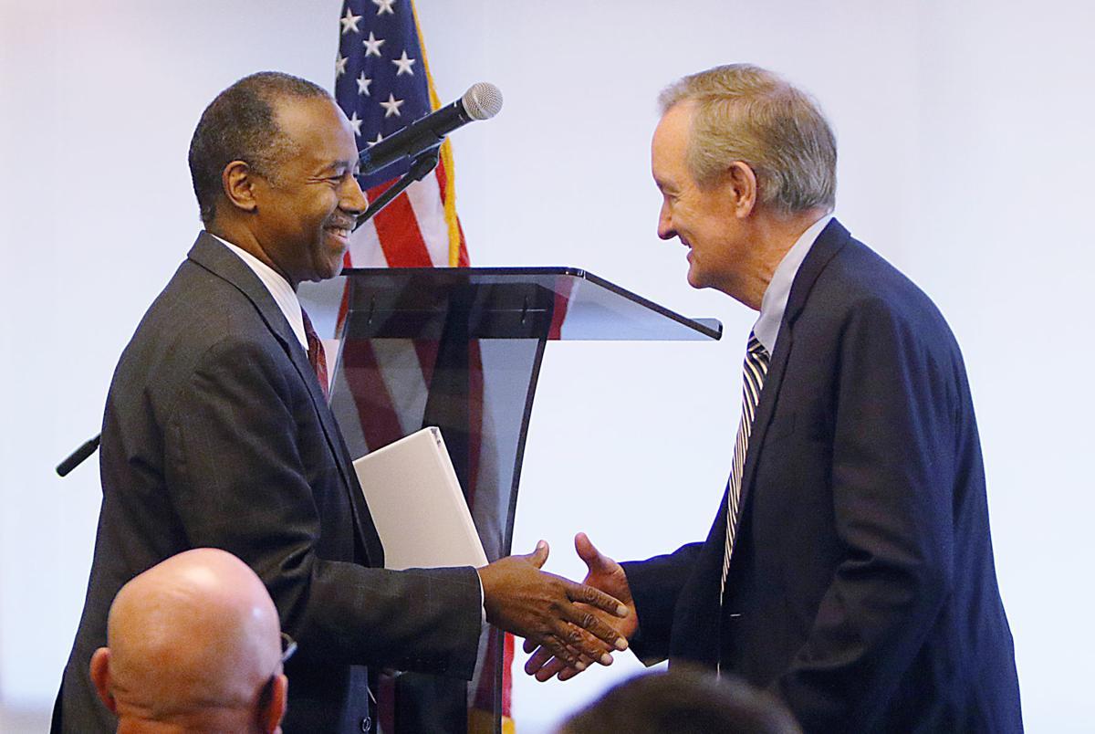 HUD Secretary Dr. Ben Carson visits