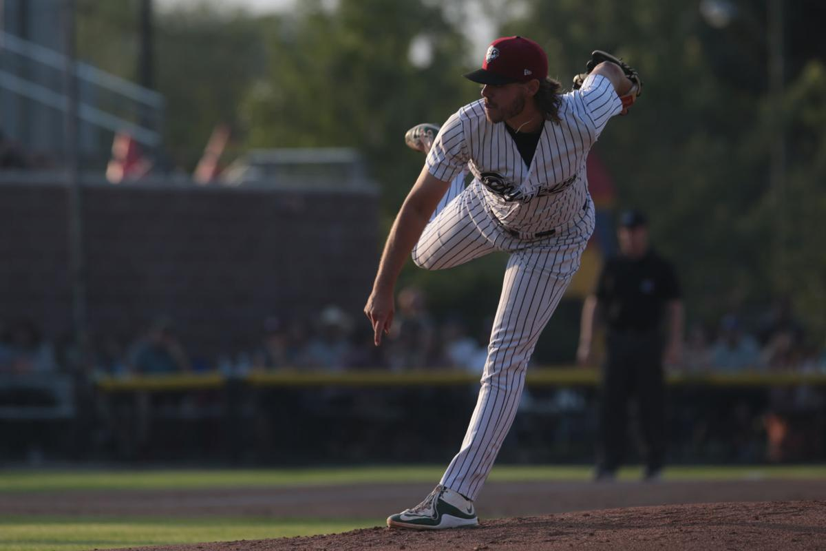 Floyd records longest outing yet as Chukars top Vibes, 9-4, in series-opener