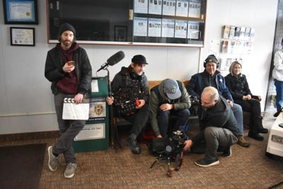 media at the police department