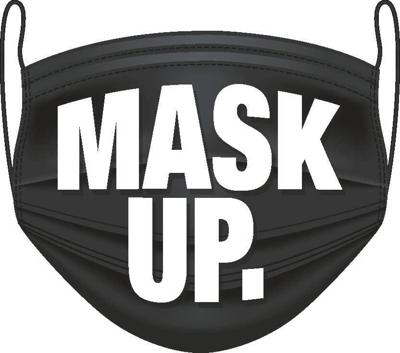 mask up artwork