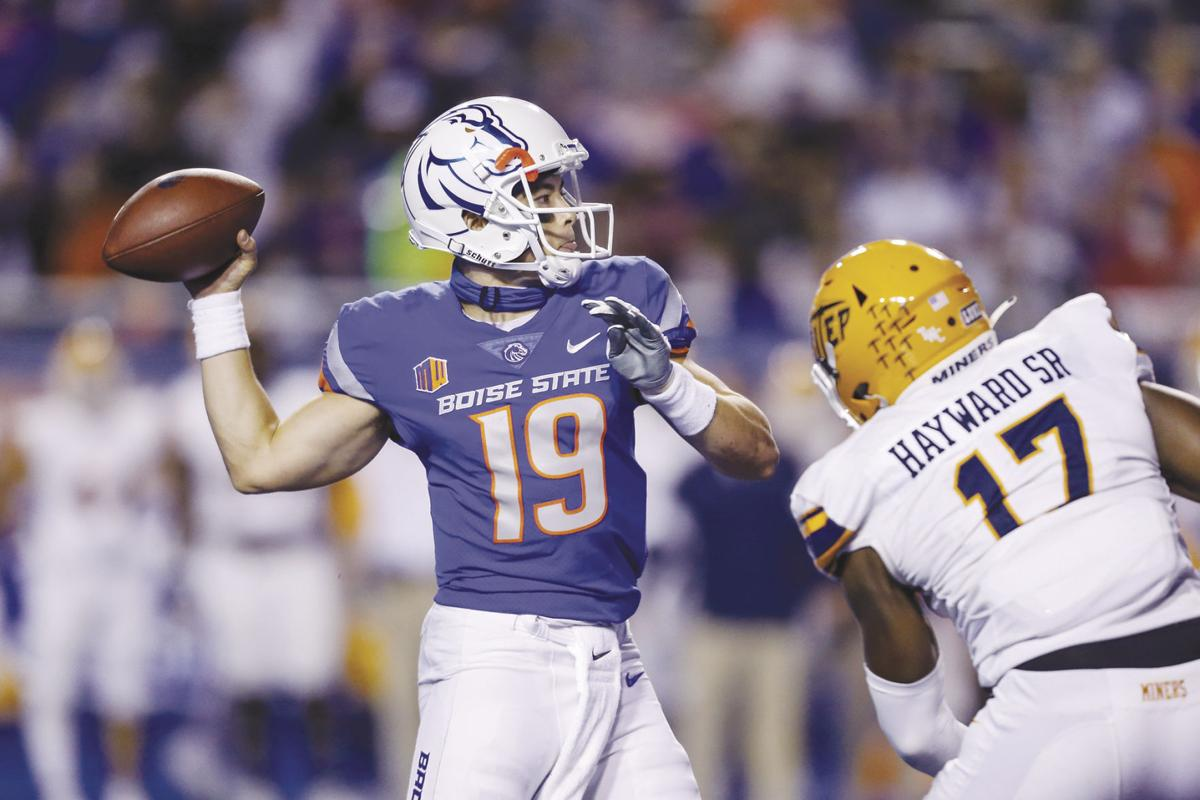 Boise State's Bachmeier rebounds after 'really bad mistake' against UCF