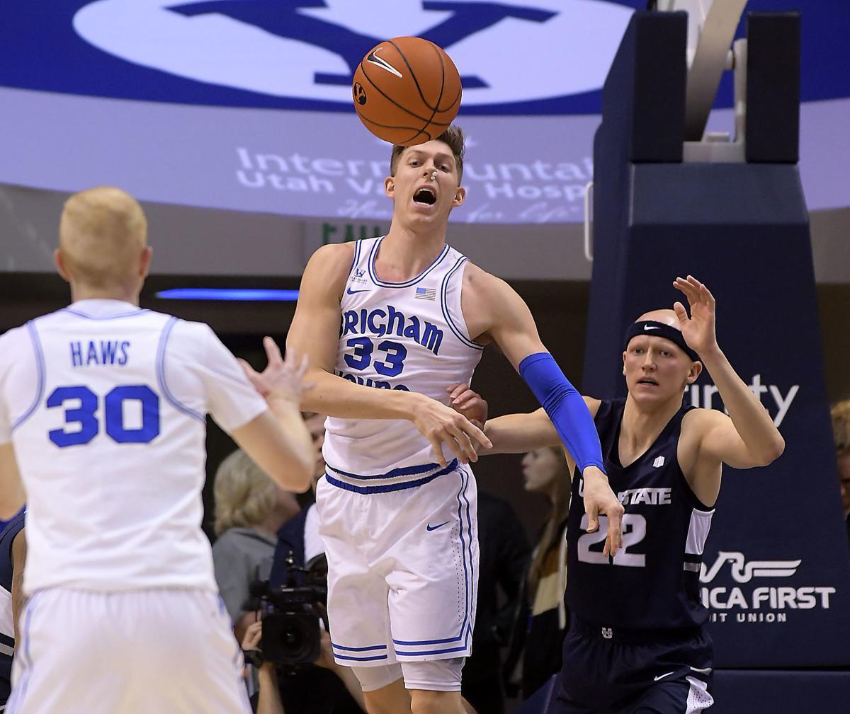 Utah St BYU Basketball