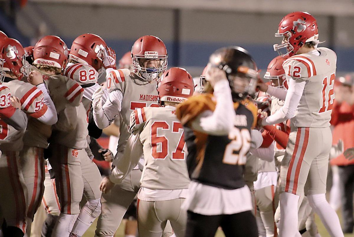 HIGH SCHOOL FOOTBALL ROUNDUP: Madison scores late for big conference win over Idaho Falls
