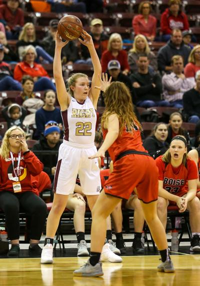 Rigby vs Boise girls basketball state playoffs