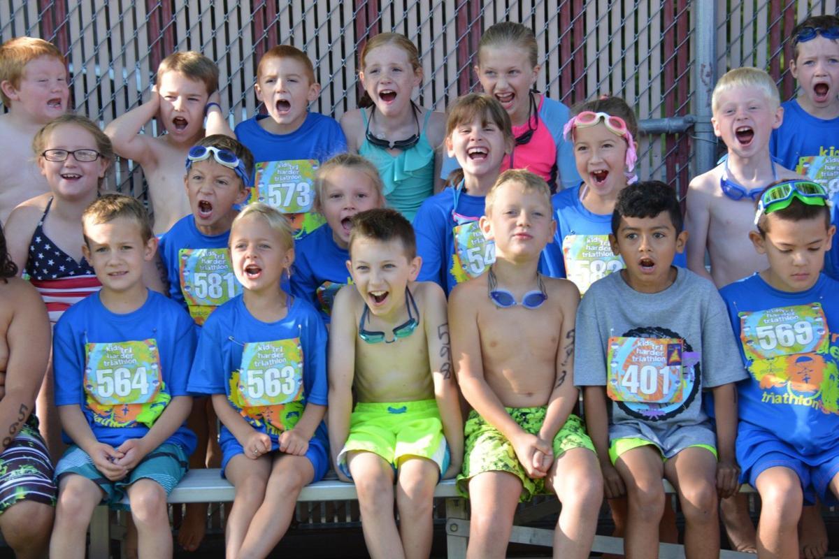 Kids Tri Harder triathlon has record turnout