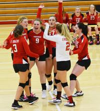 Vikings volleyball team preps for districts