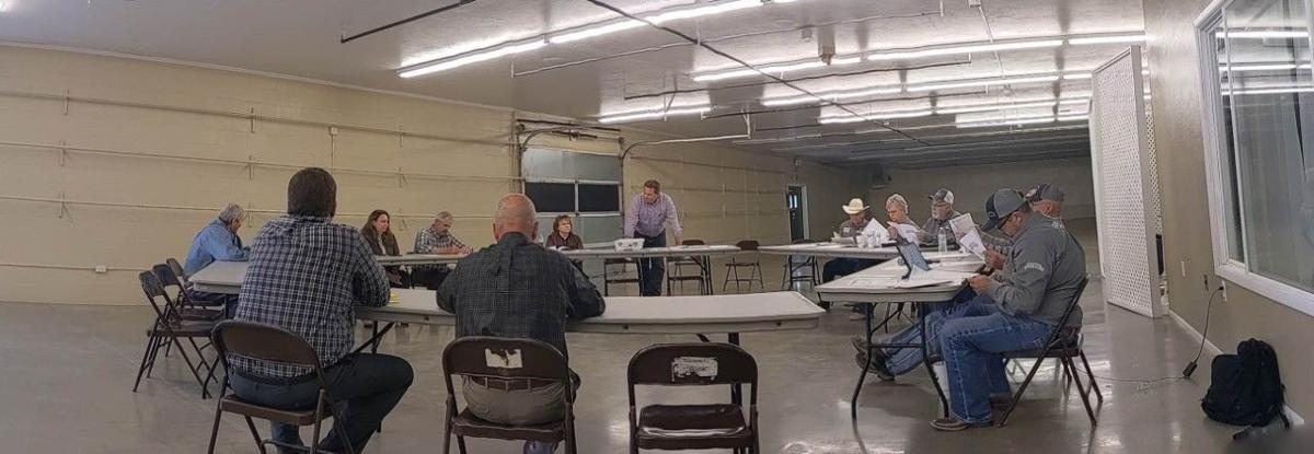 Fair board meeting