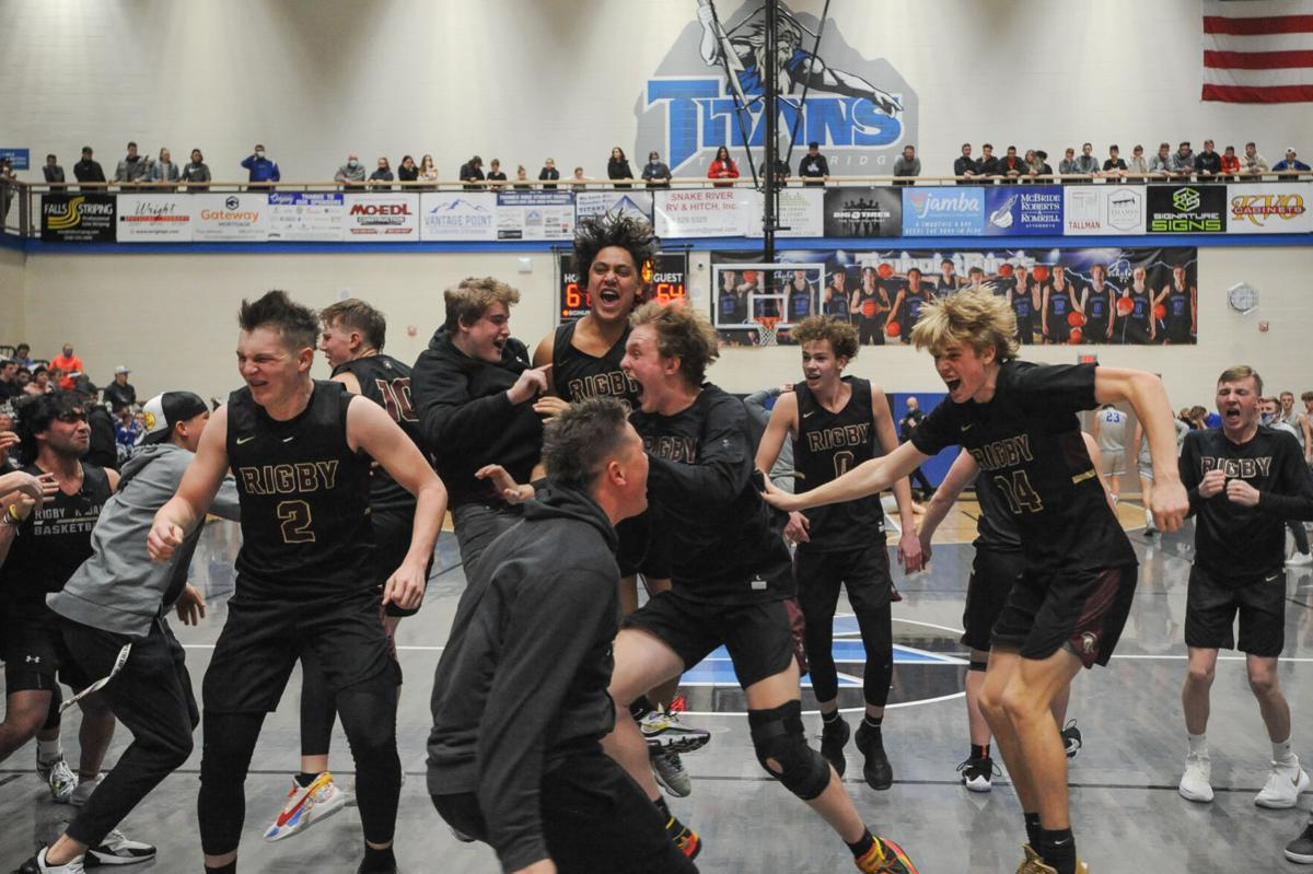 BOYS BASKETBALL: Rigby knocks off Thunder Ridge, earning a spot in the 5A state tournament