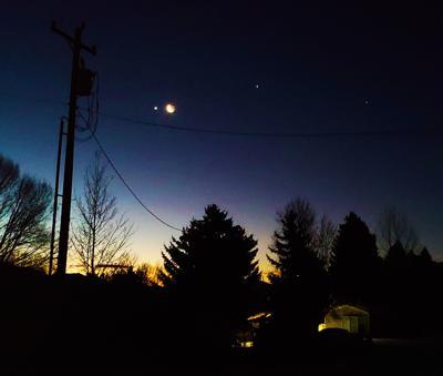 Venus Moon Jupiter