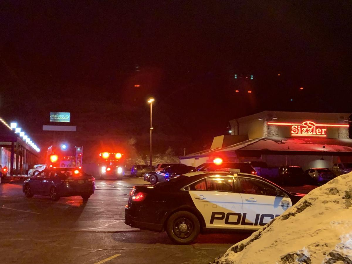 Officer-involved shooting (Vanhorn identified)