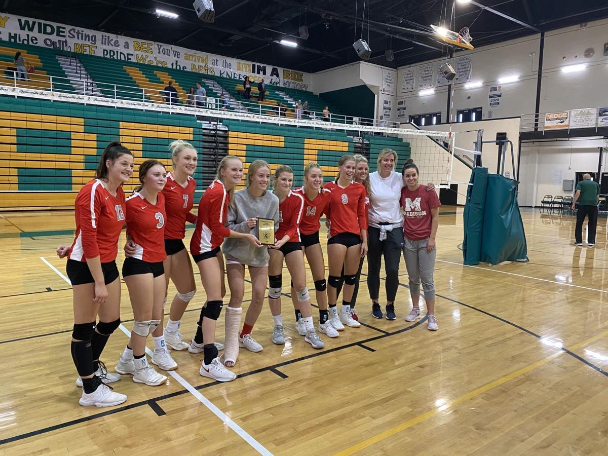 Madison captures Bonneville Classic volleyball tournament title