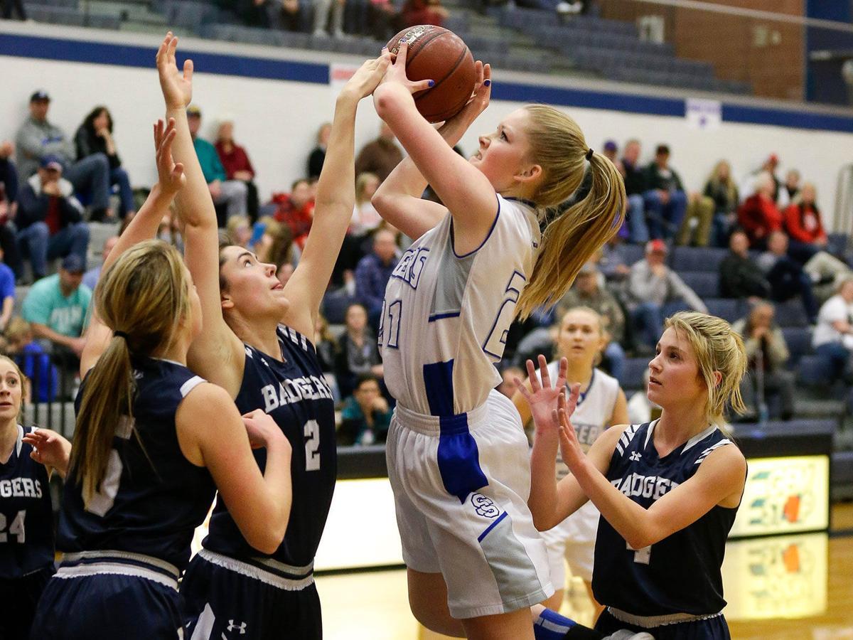 Sugar-Salem begins state girls basketball title defense with 57-31 win
