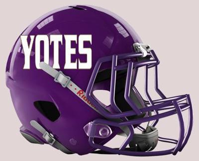 College of Idaho helmet