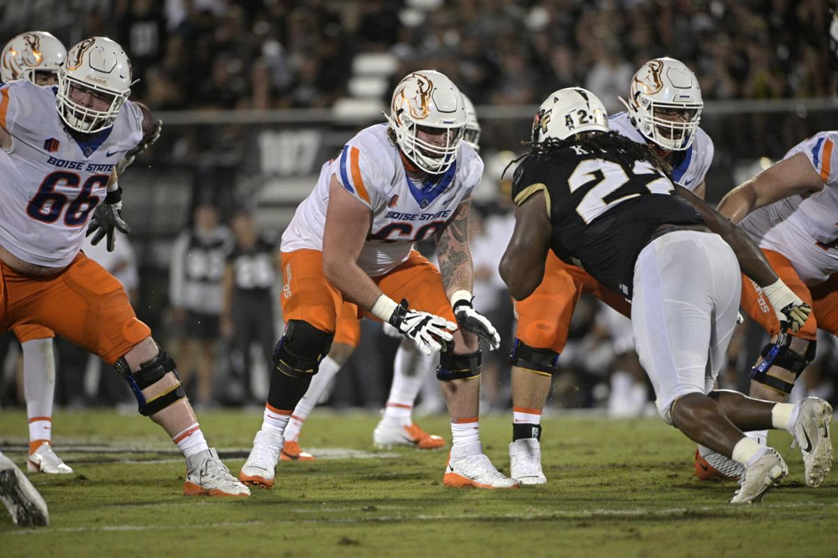 Beleaguered Boise State offensive line showing signs of improvement