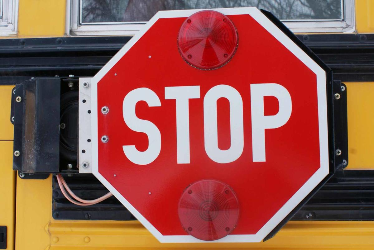 Fine for running school-bus stop sign doubles