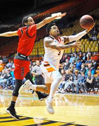 ISU men hold off Montana Western for 74-66 win