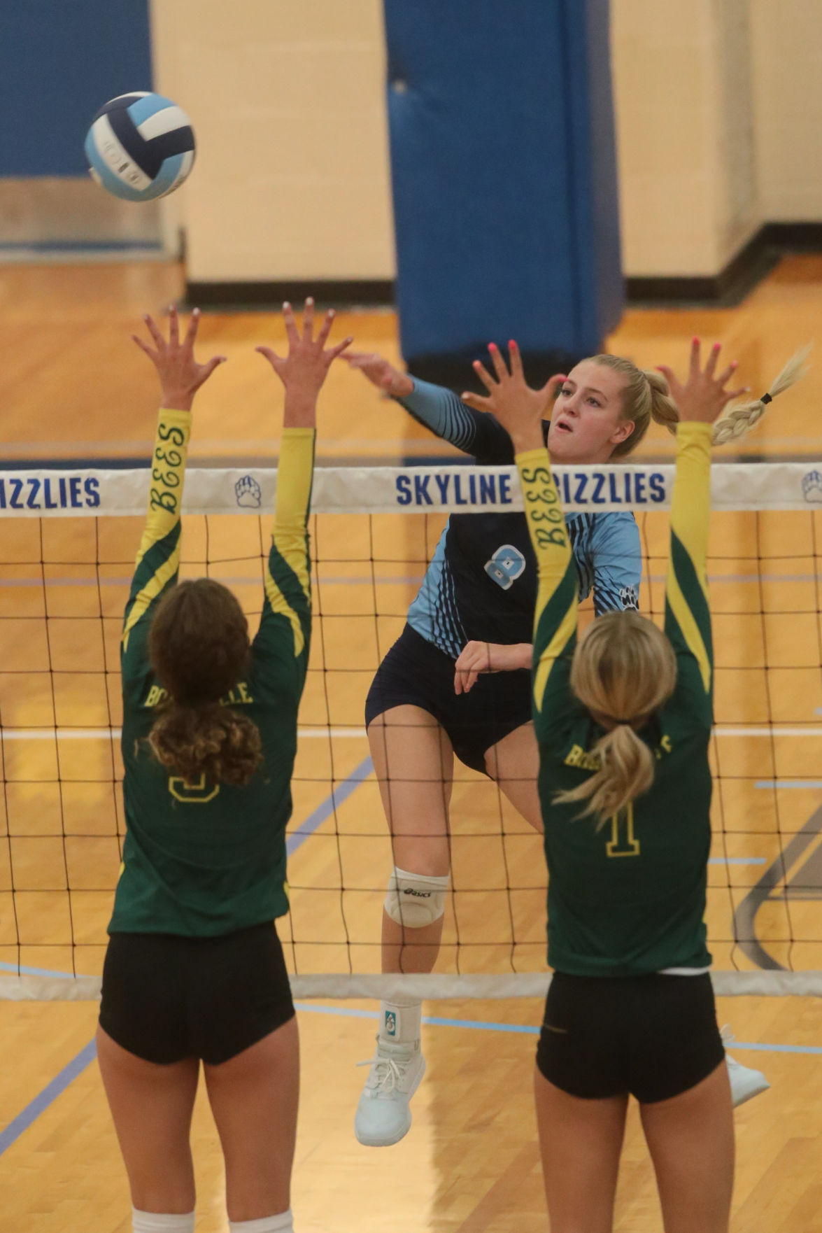 Skyline vs Bonneville volleyball