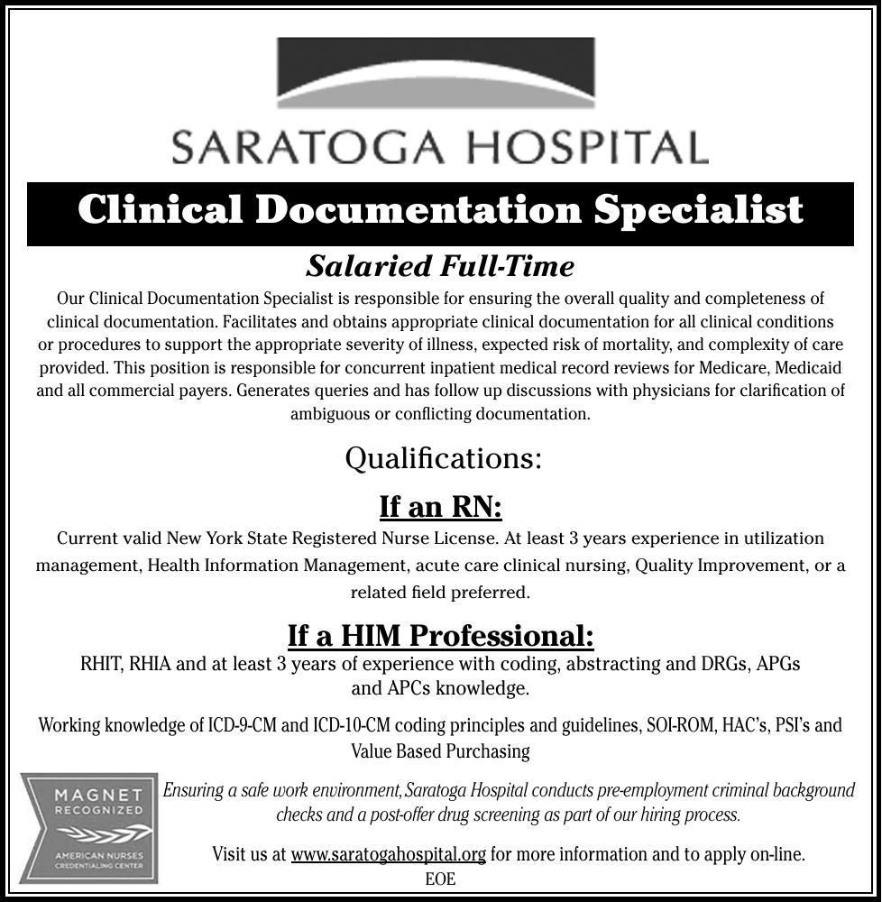 Download PDF Clinical Documentation Specialist