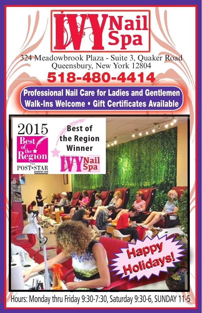 Ivy Nail Spa Queensbury Ny Hours