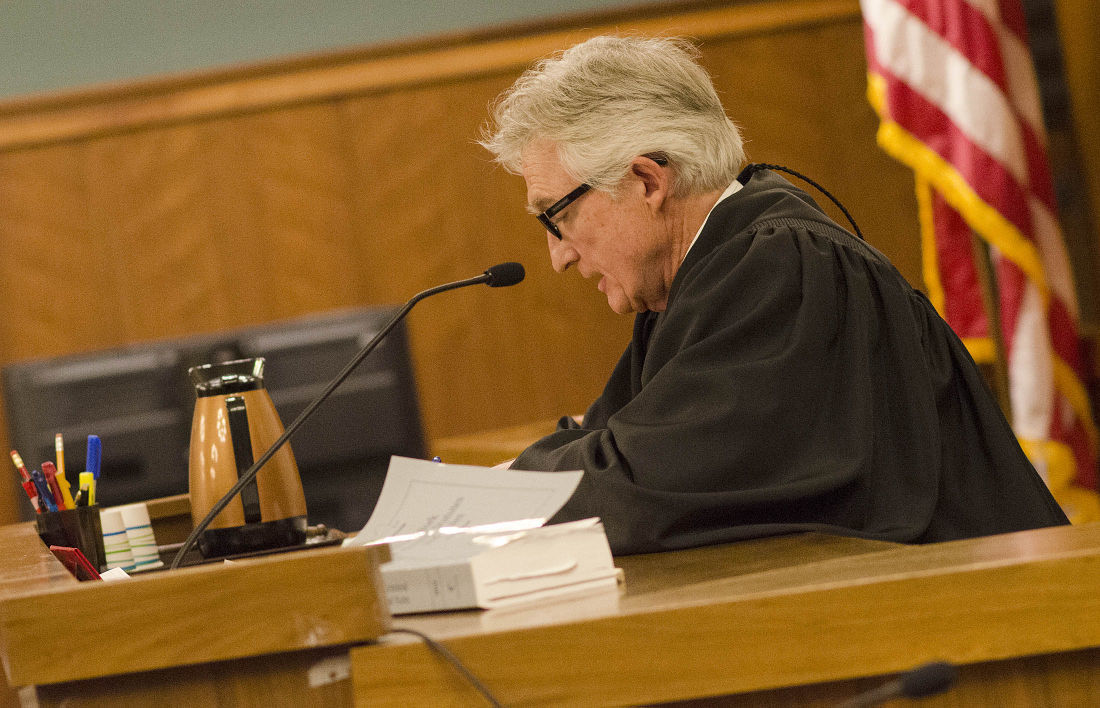 Judge at work