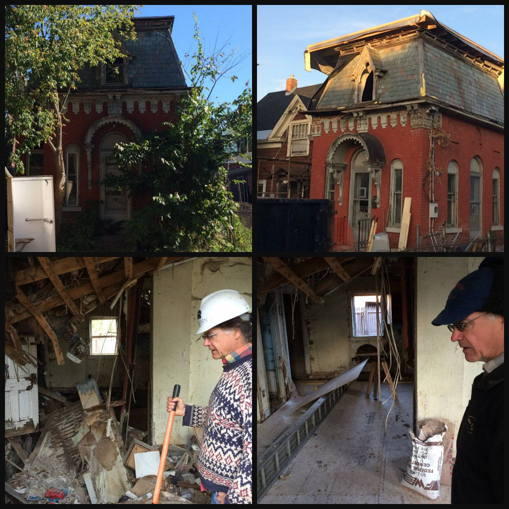 Culvert Street House renovations: before & after
