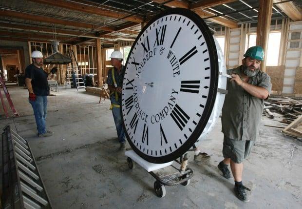 Warren Square clock