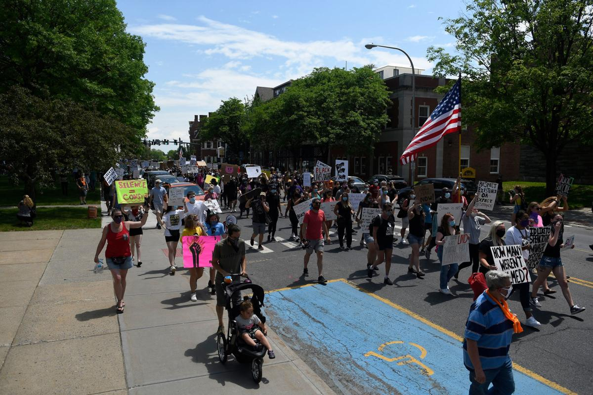Thousands show up for peaceful rally and march in Glens Falls