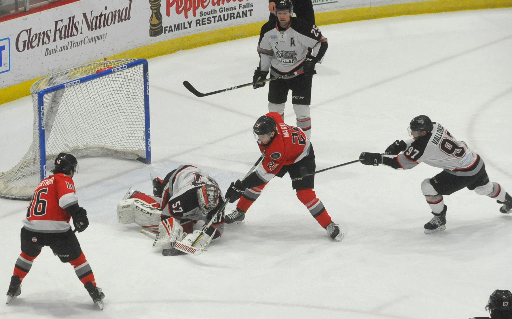 ECHL: Brampton Rallies To Beat Thunder In OT