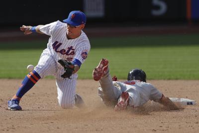 APTOPIX Nationals Mets Baseball