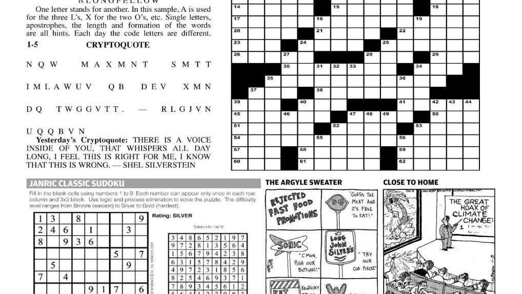 comics puzzles comics poststarcom