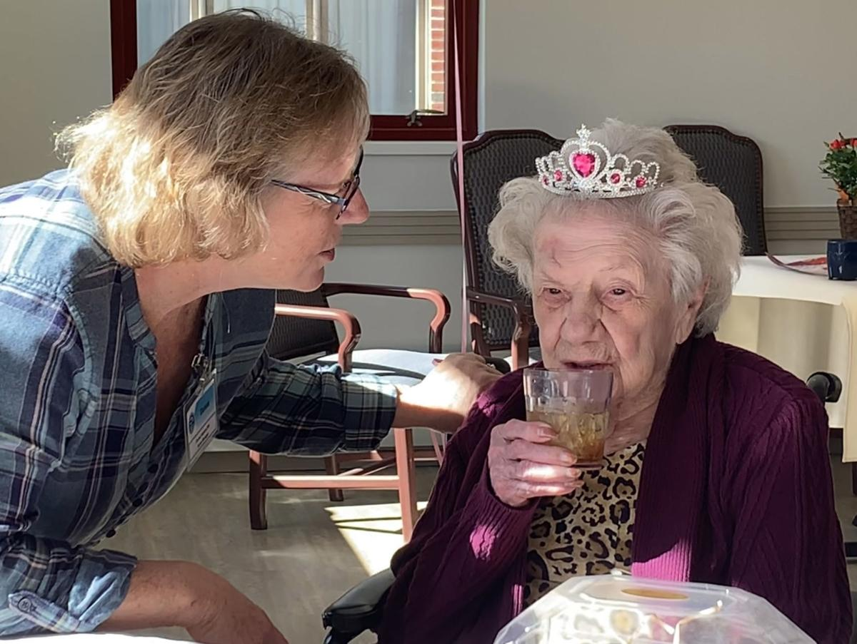 Anna Brummer turns 105
