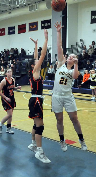 Girls basketball: Corinth at Warrensburg