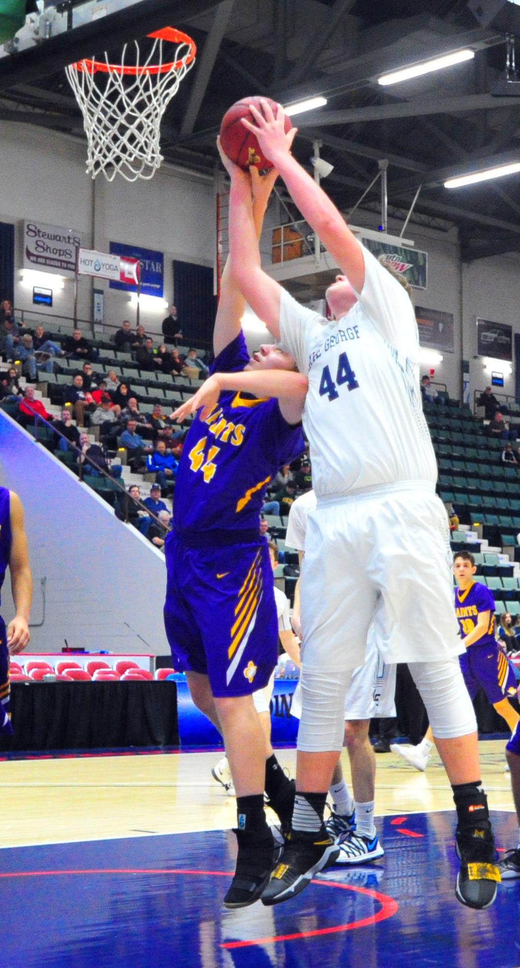 Lake George vs. Spa Catholic boys basketball
