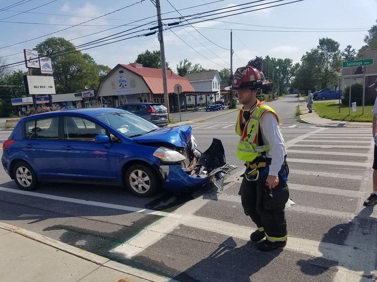South Glens Falls crash