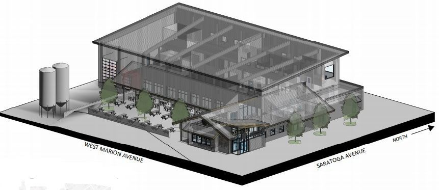 Common Roots' proposed brewery and restaurant