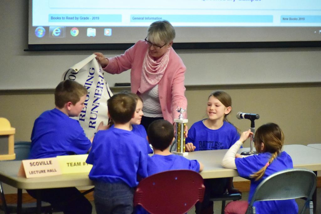 Battle of the Books gets students excited about reading