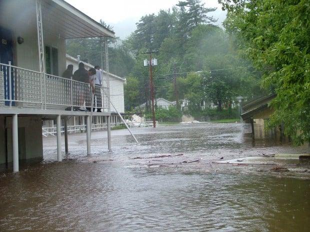 Irene damage -- flooding 2
