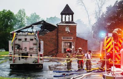 Black Church fire