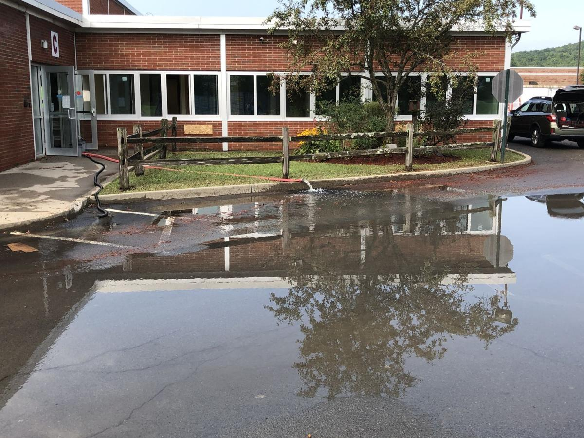 Whitehall school flooding