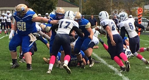Football: Lake George/Hadley-Luzerne at Granville