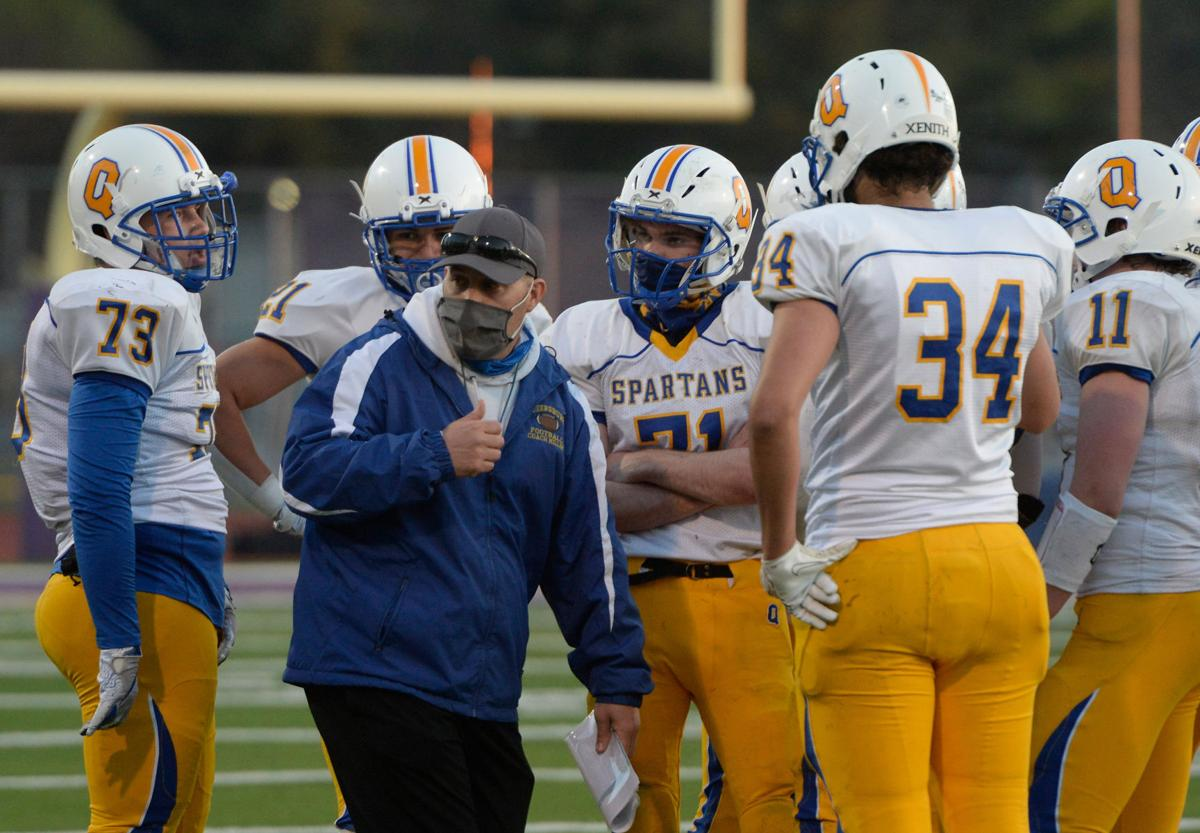 Football: Queensbury at Troy