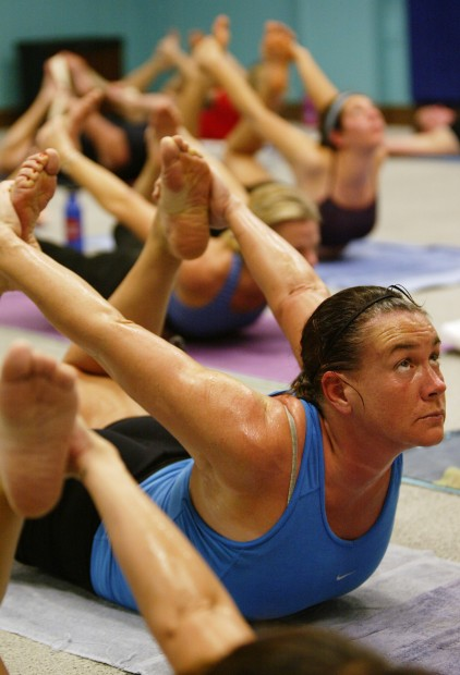 Sweating It Out At Hot Yoga Saratoga  Photo Galleries