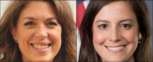 Tedra Cobb and U.S. Rep. Elise Stefanik
