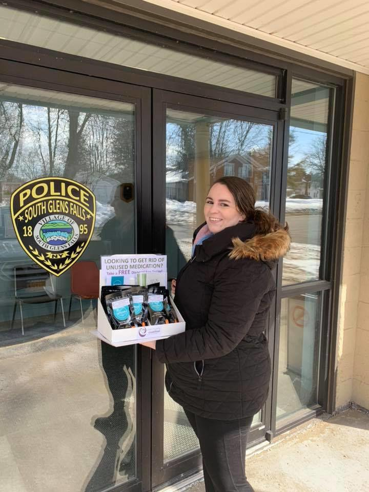 Deterra at South Glens Falls police station